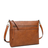 Zoe Crossbody - Brown