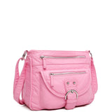 The Lorie Crossbody - Bubble Gum Pink