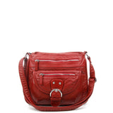 The Lorie Crossbody - Burgundy - Ampere Creations