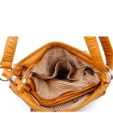 The Lorie Crossbody - Light Brown - Ampere Creations