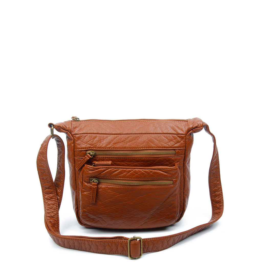 The Elsa Crossbody - Brown - Ampere Creations