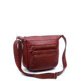 The Elsa Crossbody - Burgundy - Ampere Creations