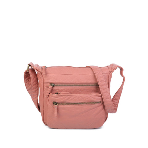 The Elsa Crossbody - Peach - Ampere Creations