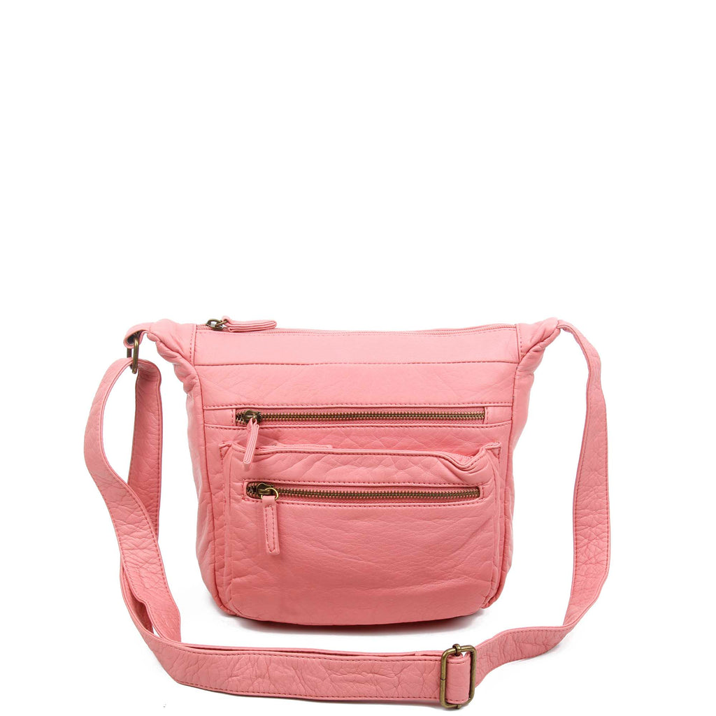 The Elsa Crossbody - Rose Pink - Ampere Creations