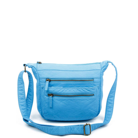 The Elsa Crossbody - Serenity Blue - Ampere Creations