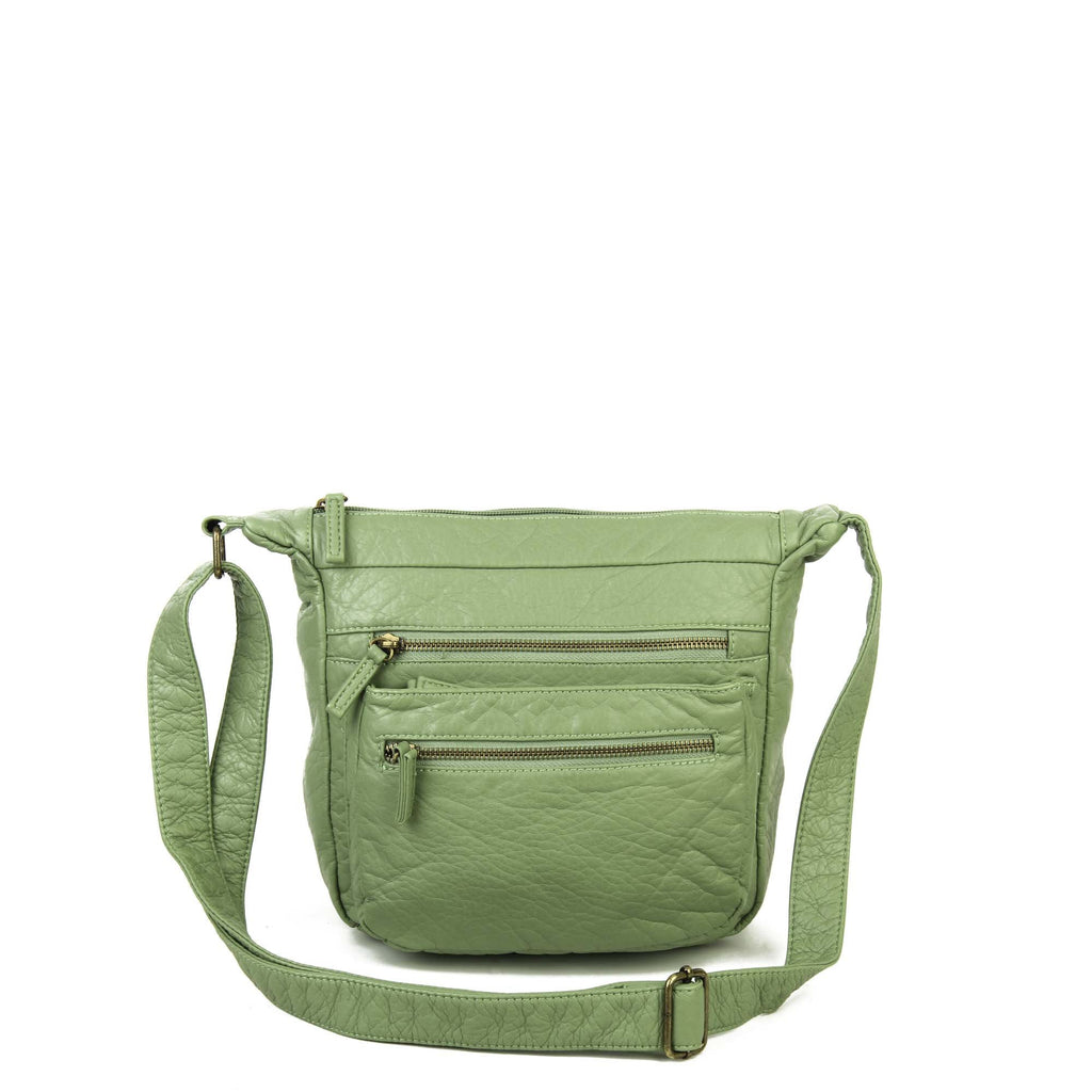 The Elsa Crossbody - Seafoam Green - Ampere Creations