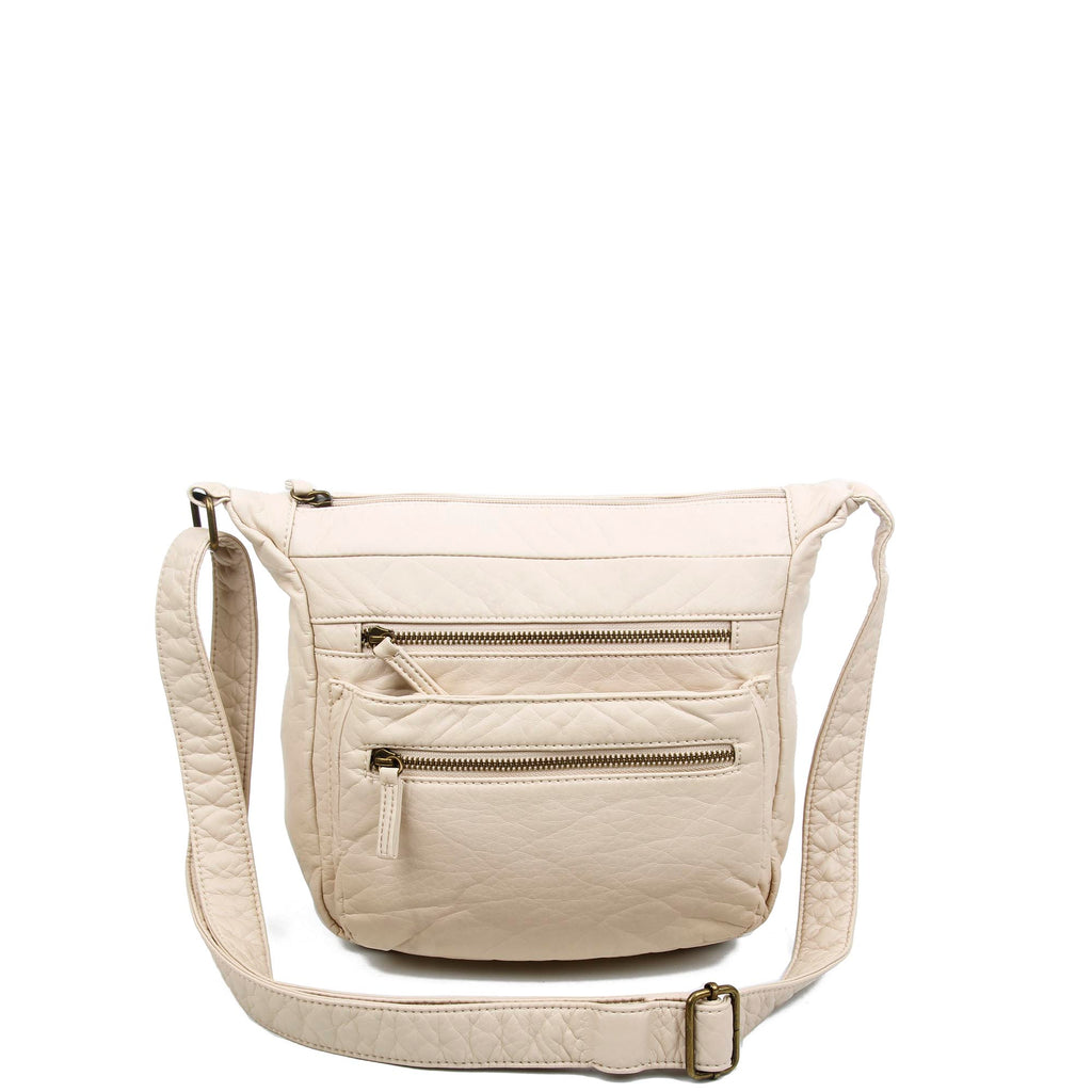The Elsa Crossbody - Taupe - Ampere Creations