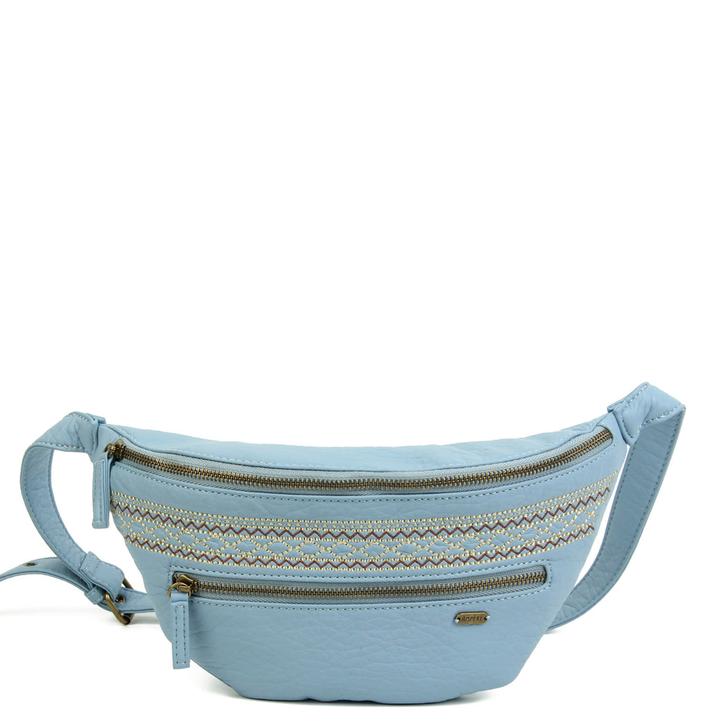 The Free Spirit Fanny Pack - Baby Blue - Ampere Creations