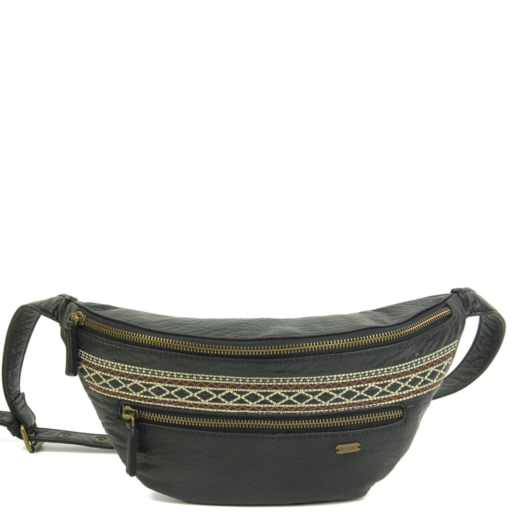 The Free Spirit Fanny Pack - Black - Ampere Creations