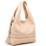 The Amia Hobo - Beige - Ampere Creations