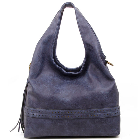 The Amia Hobo - Blue - Ampere Creations