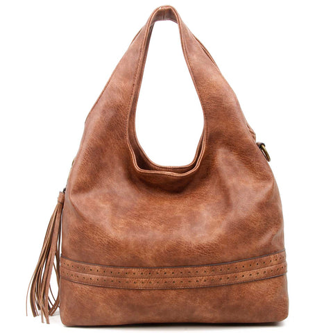 The Amia Hobo - Brown - Ampere Creations
