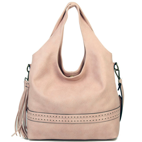 The Amia Hobo - Pastel Rose