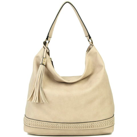 The Aida Hobo - Beige - Ampere Creations