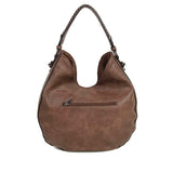 The Dana Hobo Crossbody - Dark Brown - Ampere Creations