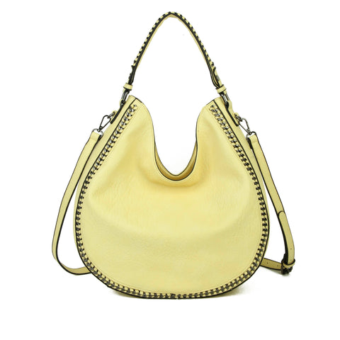The Dana Hobo Crossbody - Lemon Zest - Ampere Creations