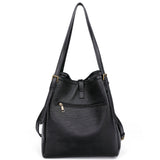 The Heidi Hobo - Black - Ampere Creations