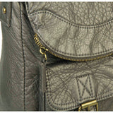 The Annabell Messenger Crossbody - Dark Silver - Ampere Creations