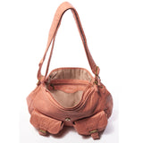 The Annabell Messenger Crossbody - Peach - Ampere Creations