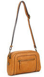 The Aime Crossbody - Light Brown