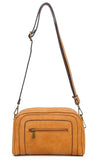 The Aime Crossbody - Light Brown - Ampere Creations