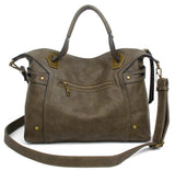 The Ali Satchel - Khaki - Ampere Creations