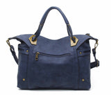 The Ali Satchel - Blue - Ampere Creations