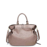 The Brandi Satchel - Bronze - Ampere Creations