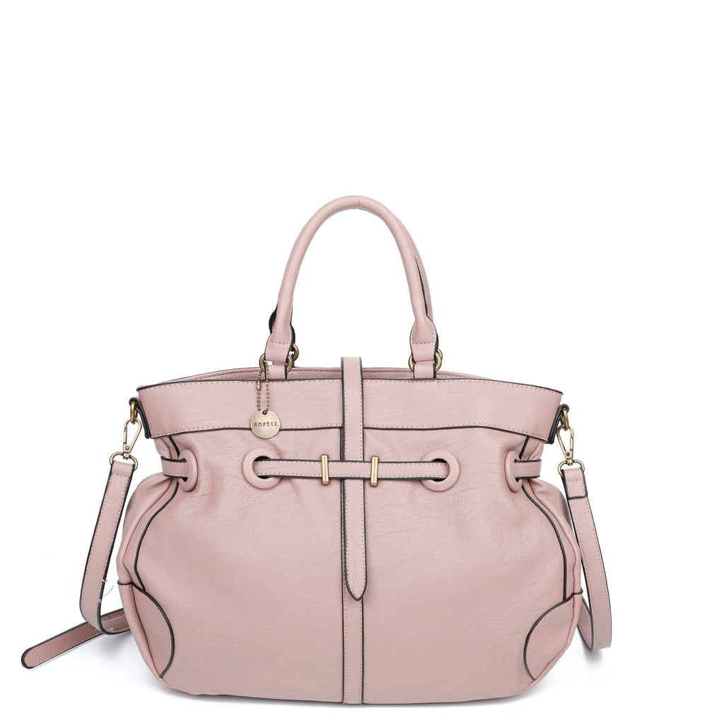 The Brandi Satchel - Nude - Ampere Creations