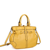 The Brandi Satchel - Nutty Mustard - Ampere Creations