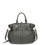 The Brandi Satchel - Olive - Ampere Creations