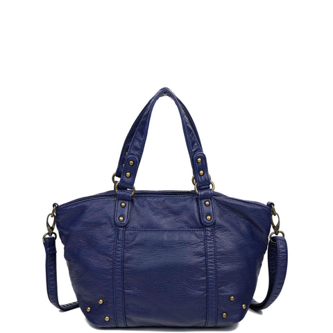 The Patty Tote - Navy Blue - Ampere Creations