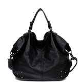 The Laurel Satchel - Black - Ampere Creations