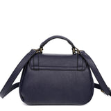 The Linda Satchel - Navy Blue - Ampere Creations