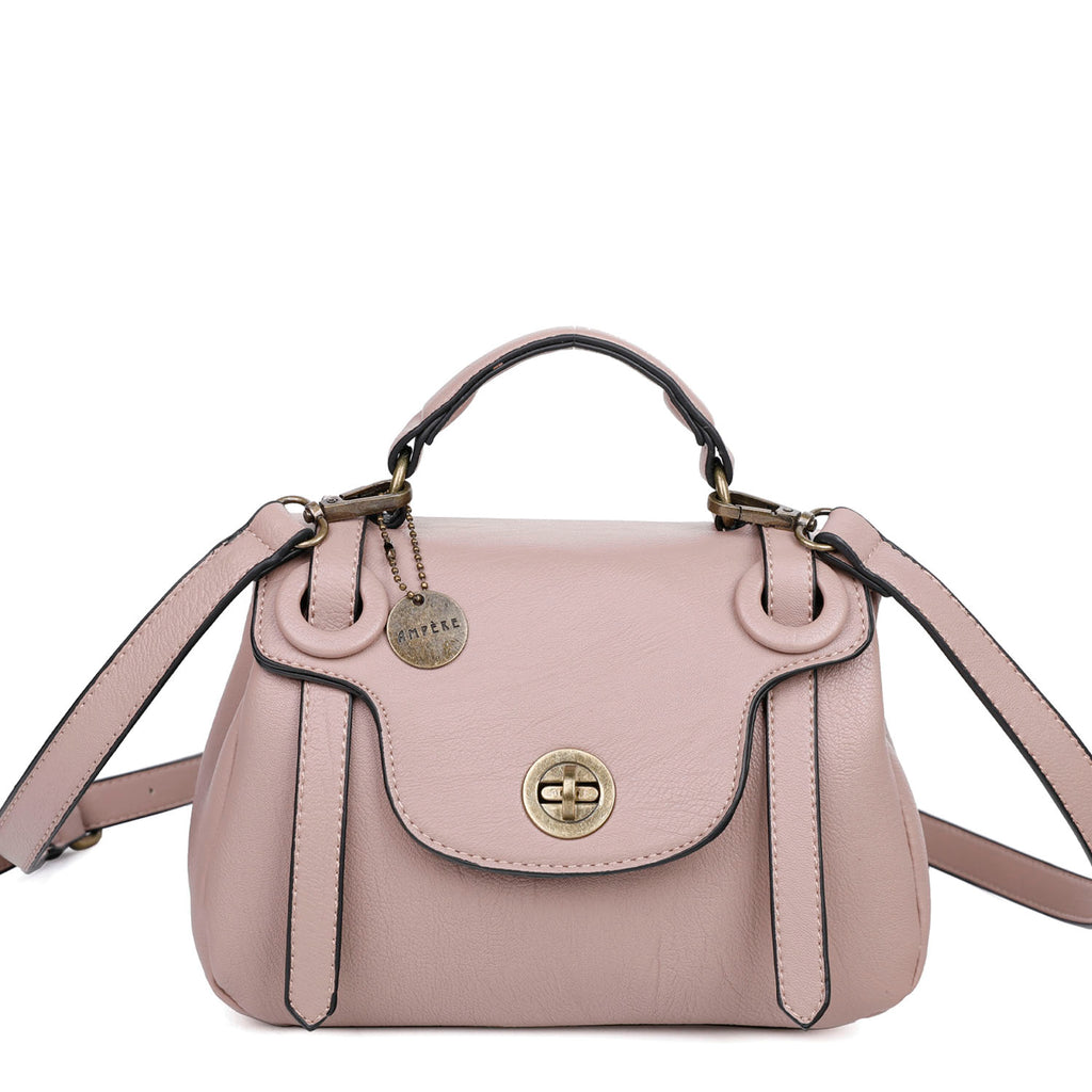 The Linda Satchel - Nude - Ampere Creations