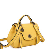 The Linda Satchel - Nutty Mustard - Ampere Creations