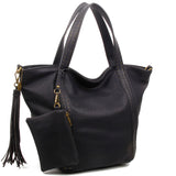 The Amelie Tote - Black - Ampere Creations