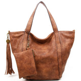 The Amelie Tote - Brown - Ampere Creations