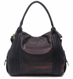 The Anna Tote Hobo - Purple - Ampere Creations