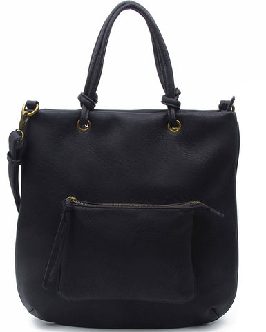 The Addison Tote - Black - Ampere Creations