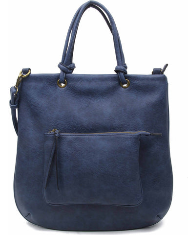 The Addison Tote - Blue - Ampere Creations