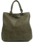 The Addison Tote - Khaki - Ampere Creations