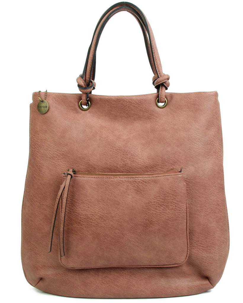 The Addison Tote - Nude - Ampere Creations