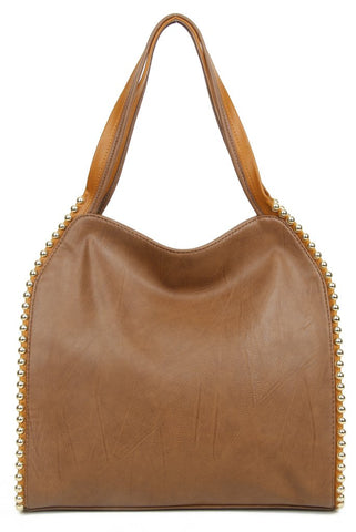 The Gracie Tote - Brown - Ampere Creations