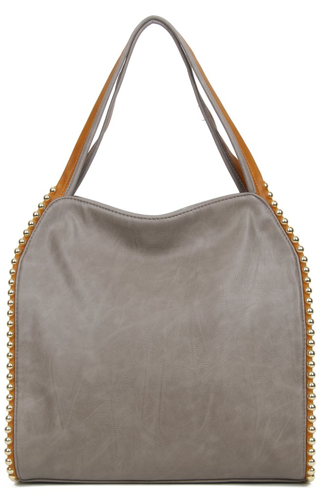 The Gracie Tote - Grey - Ampere Creations