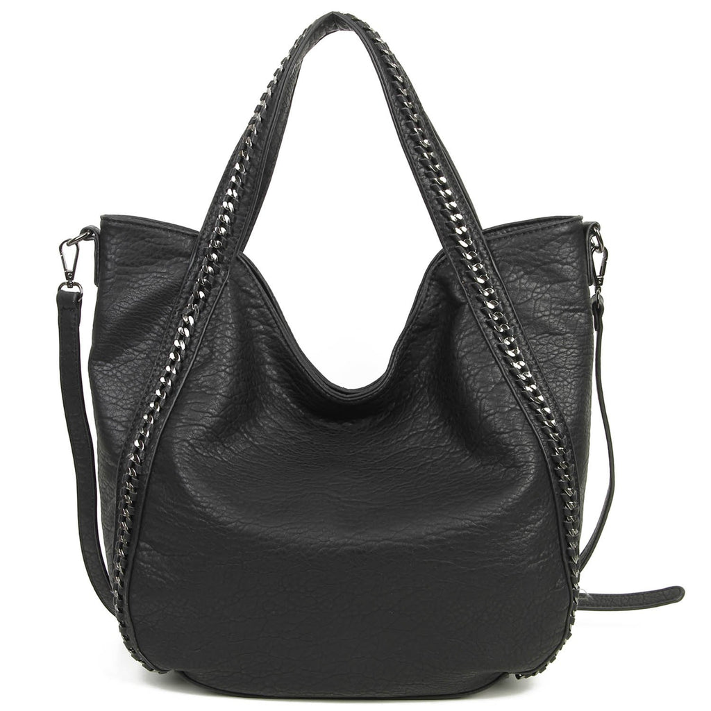 The Daphne Tote - Black - Ampere Creations