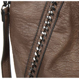 The Daphne Tote - Dark Brown - Ampere Creations