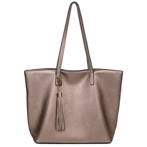 The Lucia Tote - Bronze - Ampere Creations
