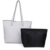 The Lucia Tote - Fossil Grey - Ampere Creations