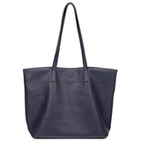 The Lucia Tote - Navy Blue - Ampere Creations